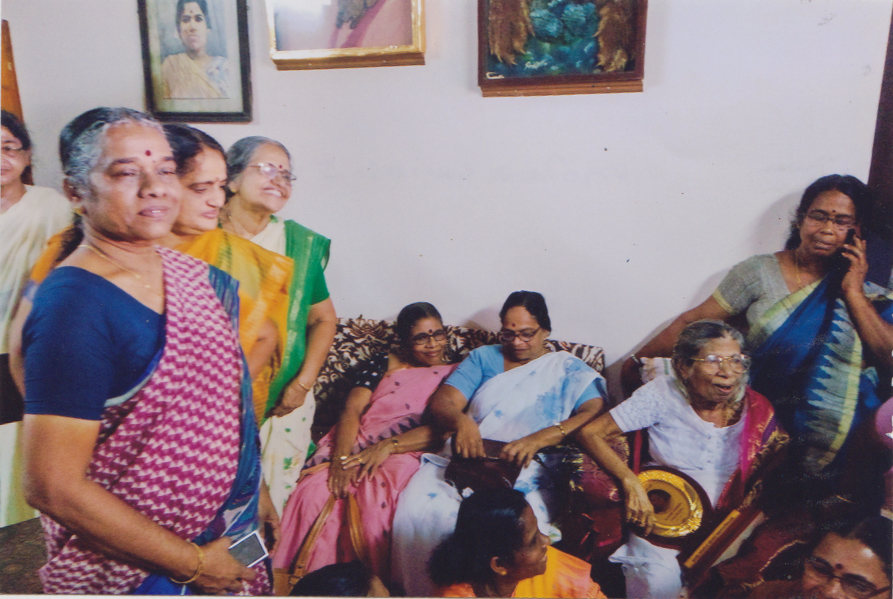 A day with Gouriamma...